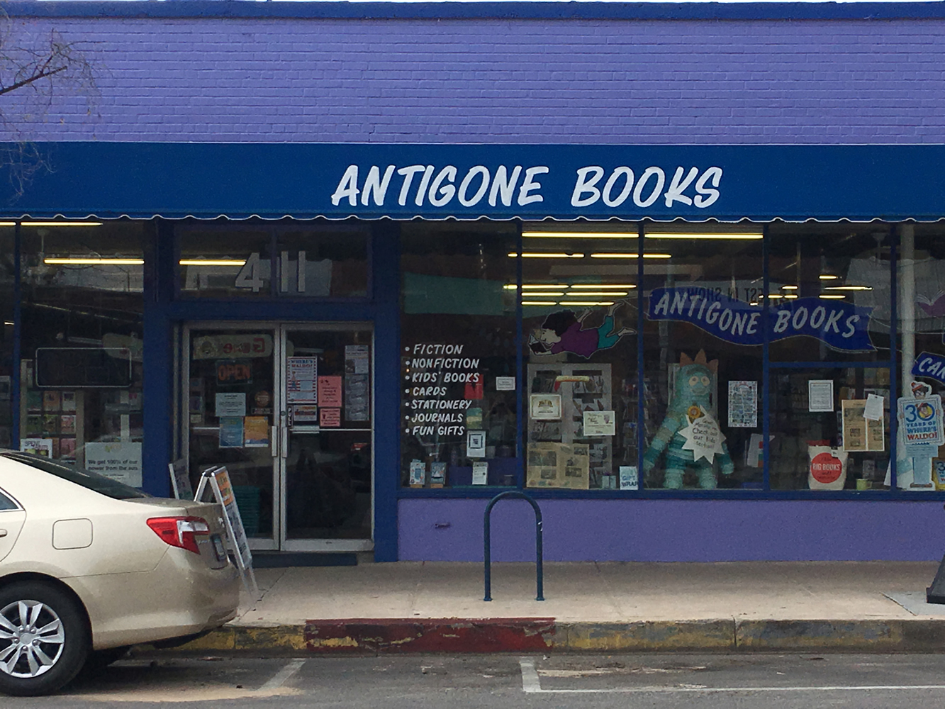 Antigone Books, Tucson, AZ - on Neighborhood Info and Resources page