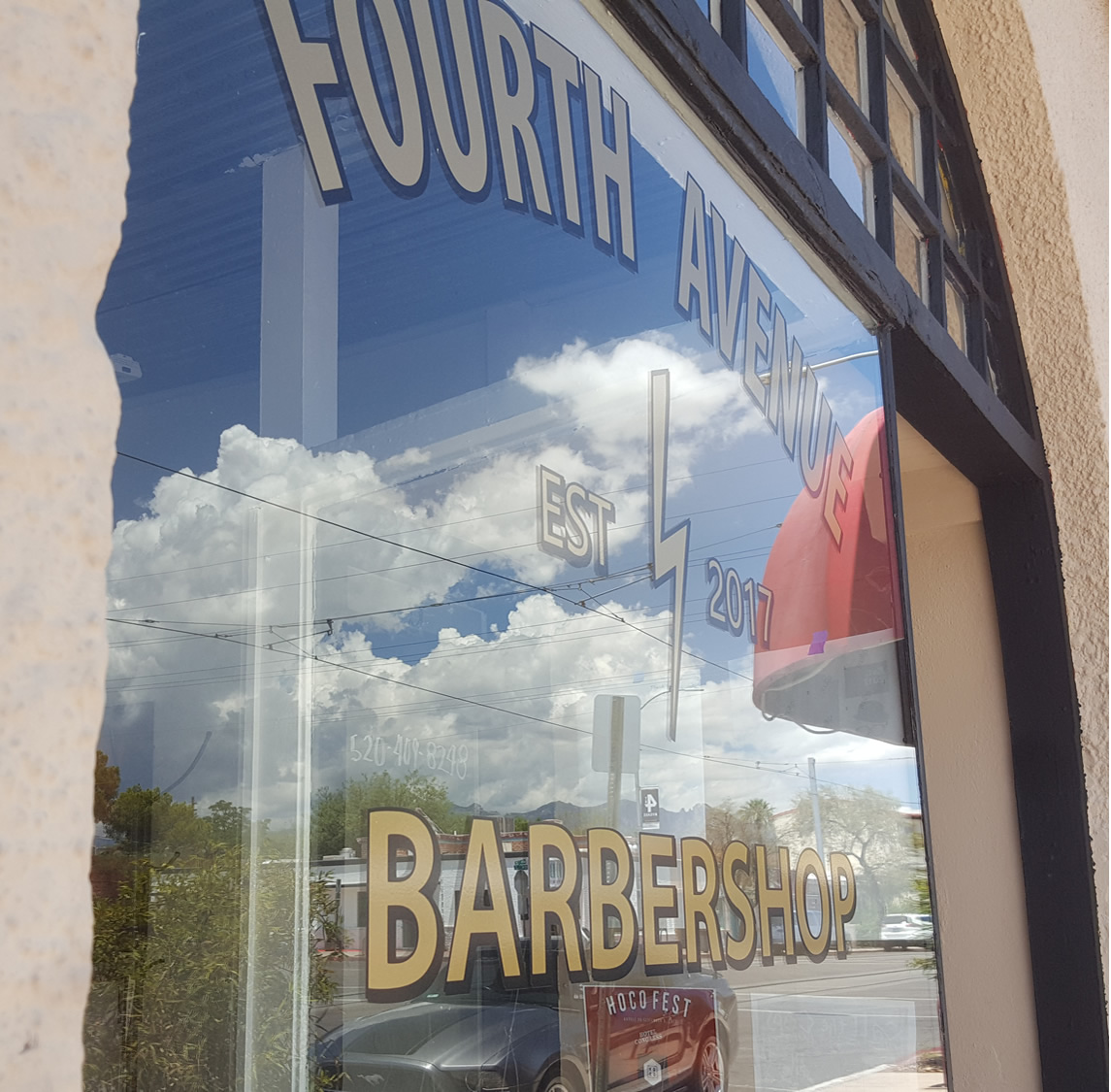 Fourth Ave Barbershop - WUNA Newsletter