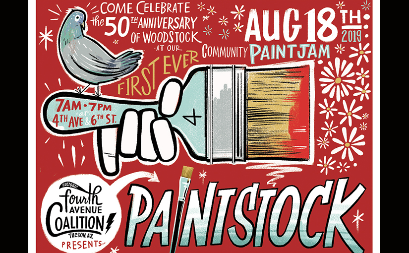 PAINTSTOCK! Aug 18, 2019, Tucson, AZ