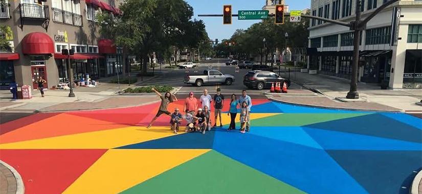 Come Help Paint the Street!