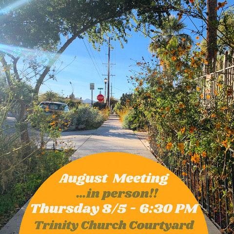 WUNA Aug 5, 2021 meeting announcement
